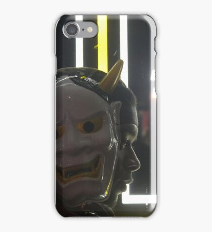 Oni wa soto no. 7 iPhone Case/Skin