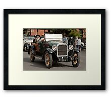 Out for a drive. Framed Print
