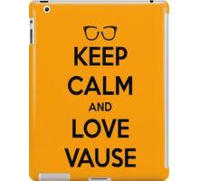 LOVE VAUSE iPad Case/Skin
