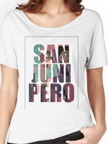san junipero Women's Relaxed Fit T-Shirt