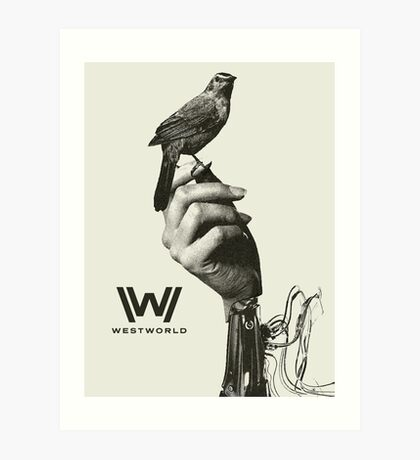 Westworld Bird Art Print