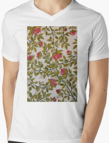 Prickly Pinks Mens V-Neck T-Shirt