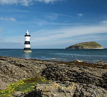 Penmon Lighthouse & Puffin Island by Judi Lion
