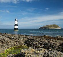 Penmon Lighthouse & Puffin Island by Judi Lion