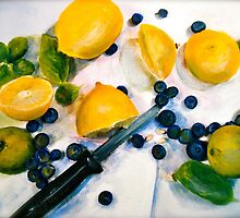 Juice...Lemons and Limes by ©Janis Zroback