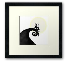 Nightmare before Christmas - Jack Skellington Framed Print