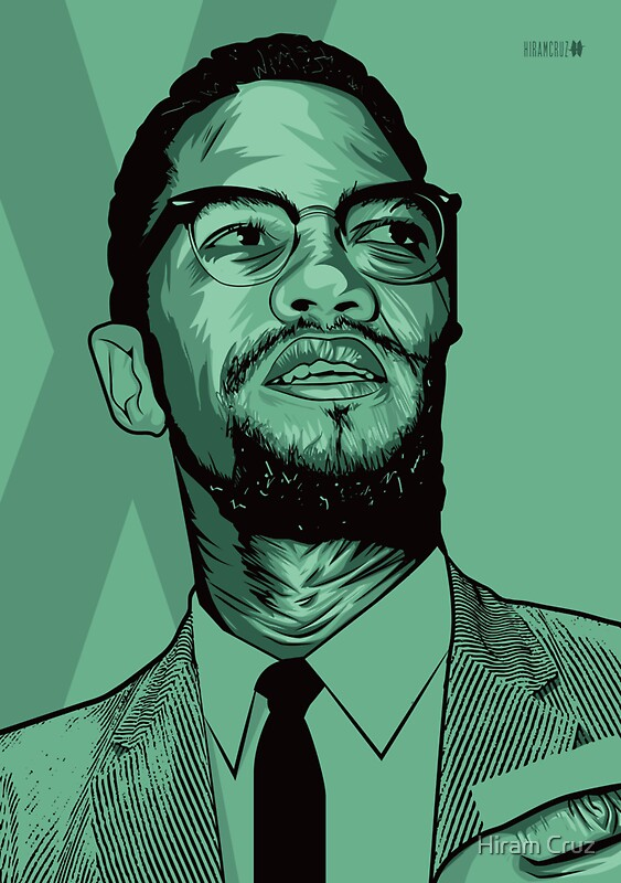 Malcolm X Stickers Redbubble