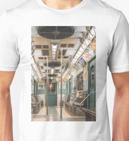 Vintage 7 Train Unisex T-Shirt