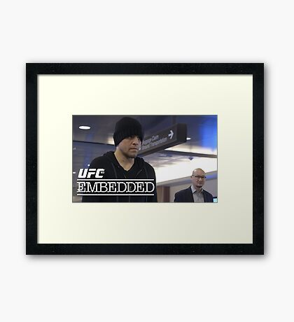 Ultimate Fighting Championship - UFC tour 2016 nm4 Framed Print