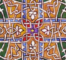Bulgarian knotwork (very like Celtic design) Sticker