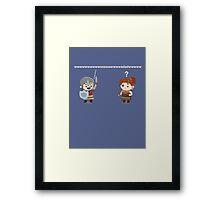 """Battle Cry """"WWW"""" Framed Print"""