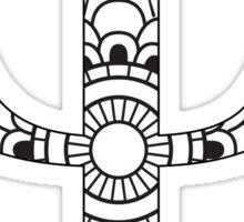 Psi-mandala design Sticker