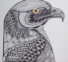 Tangled Eagle No. 2 by PennyRaeN