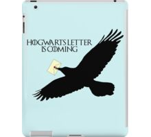 Hogwarts letter is coming  iPad Case/Skin