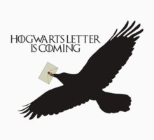 Hogwarts letter is coming  Kids Clothes