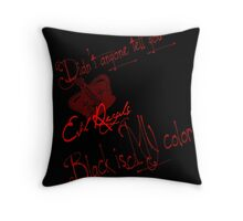 Evil Regal Throw Pillow