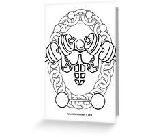 Strength Oldschool - Oldtime Strongman Greeting Card