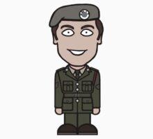 Sergeant Benton (sticker) by redscharlach