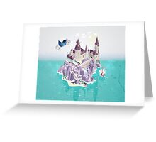 Hogwarts series (year 4: the Goblet of Fire) Greeting Card