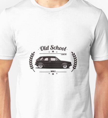 Volkswagen Golf MK2 Old School Unisex T-Shirt