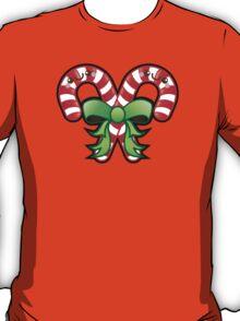 Cute Kawaii Christmas Candy Cane T-Shirt
