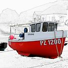 Little Cornish Fishing Boat by hootonles