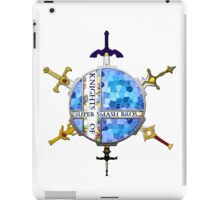 Knights of Super Smash Bros. [Blue] iPad Case/Skin