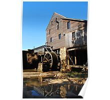 Yates Grist Mill Reflections Poster
