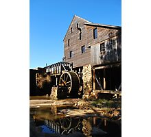 Yates Grist Mill Reflections Photographic Print