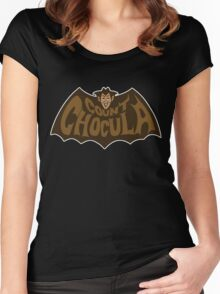 Beware Count Chocula Women's Fitted Scoop T-Shirt