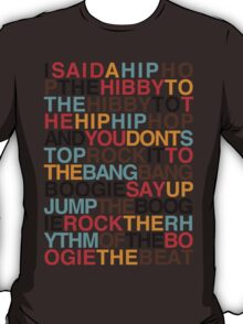 Rapper's Delight - Sugarhill Gang T-Shirt