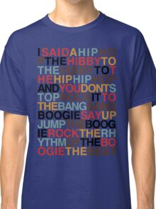 Rapper's Delight - Sugarhill Gang Classic T-Shirt