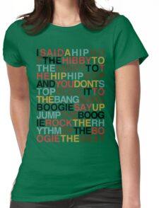 Rapper's Delight - Sugarhill Gang Womens Fitted T-Shirt