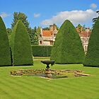Great Court Garden, Athelhampton by RedHillDigital