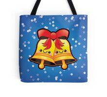 Cute Kawaii Christmas Jingle Bells Tote Bag