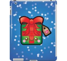 Cute Kawaii Christmas Present iPad Case/Skin