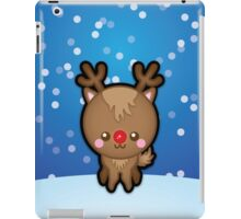 Cute Kawaii Rudolph The Red Nosed Reindeer iPad Case/Skin