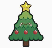 Cute Kawaii Christmas Tree Kids Clothes