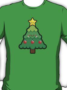 Cute Kawaii Christmas Tree T-Shirt