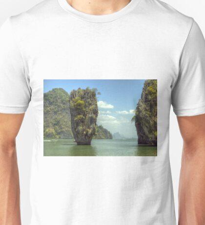 James Bond island Thailand Unisex T-Shirt