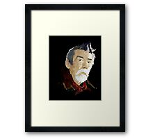 Doctor Who - The War Doctor Framed Print