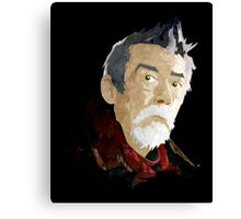 Doctor Who - The War Doctor Canvas Print