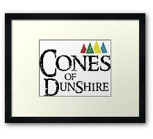 Dunshire Attack! Framed Print