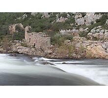 Rush and ruins Photographic Print