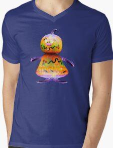 Mr Pumkin Mens V-Neck T-Shirt