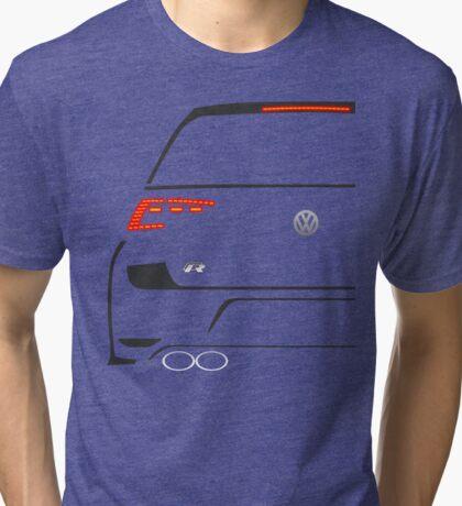 MK7 R Rear Half Cut Tri-blend T-Shirt