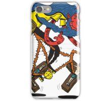 Satan rides  fixie! iPhone Case/Skin