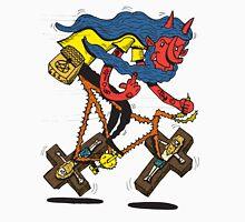 Satan rides  fixie! Unisex T-Shirt
