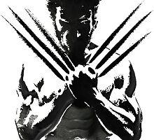 Wolverine painting  by sararachdan