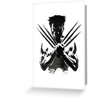 Wolverine painting  Greeting Card